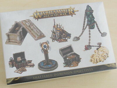 Warhammer Age of Sigmar Shattered Dominion Objectives *Neu*