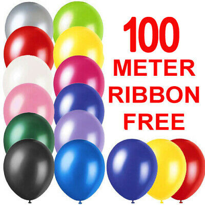 "10""  Latex PLAIN BALOON BALLONS helium BALLOONS Quality Party Birthday Wedding"