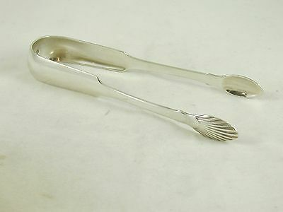 Antique Georgian Sterling Silver Pair Of Sugar Tongs Edinburgh Hallmark 1824