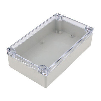 Splashproof Project Enclosure Case DIY Wiring Junction Box 200x120x55mm D9T7