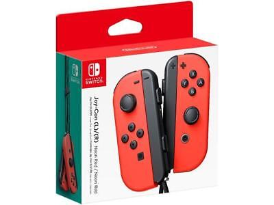 Nintendo - Joy-Con (L/R) Wireless Controllers for Nintendo Switch - Neon Red