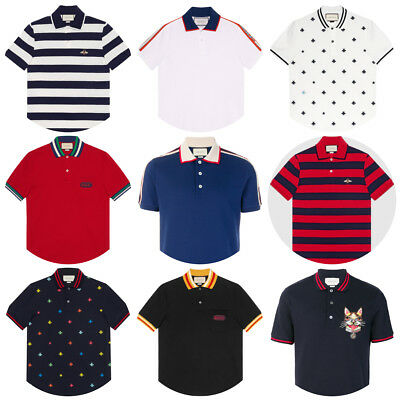 c82170cff GUCCI COTTON POLO With Bees And Stars Size: S NWT $680 SUMMER ...