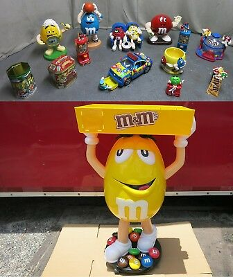 3 Foot M&M Store Display M&M Christmas Police Basketball Alarm Clock All or Part