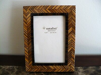 NATALINI ITALIAN HANDCRAFTED Wood Picture Frame 4X6 Beautiful ...