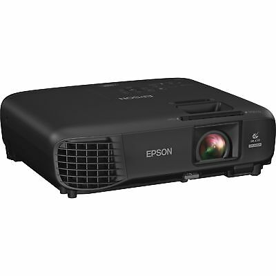 """Epson LCD Projector 1920 x 1200 14-1/10""""Wx15-3/5""""Lx6-1/5""""H BK V11H846120"""