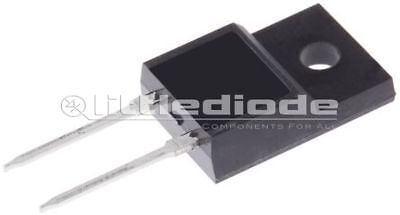 STMicroelectronics STPS8H100FP Schottky Diode 100V 8A 2-Pin TO-220FPAC