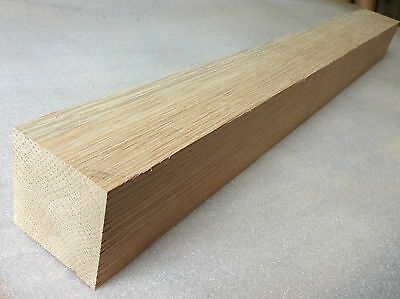 American Oak 60mm Square Wood Turning Spindle Blank - Woodturning