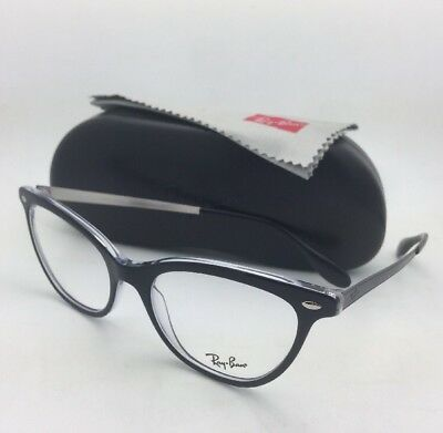 067e6617850 NEW RAY-BAN RX-ABLE Eyeglasses RB 5360 2034 54-18 Black on Clear ...