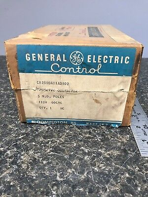 General Electric Cr2801A11Ad102- Magnetic Contactor