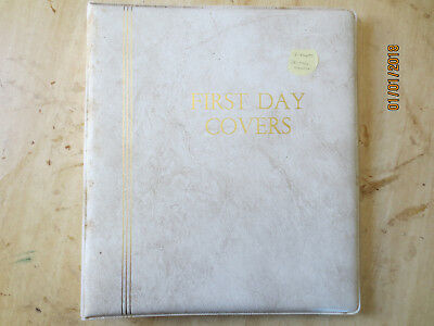 No-39 - FDC  ALBUM  12  PAGES  WITH  25  FDC'S---GOOD ORDER
