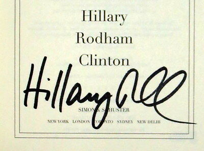 Hillary Clinton Autographed What Happened 1St Ed Book Beckett Authenticated Bas