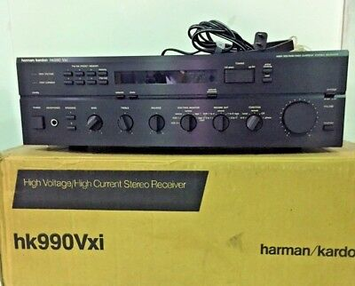Harman Kardon HK 990 Vxi High Voltage High/Current Stereo Receiver (NEW IN BOX!)