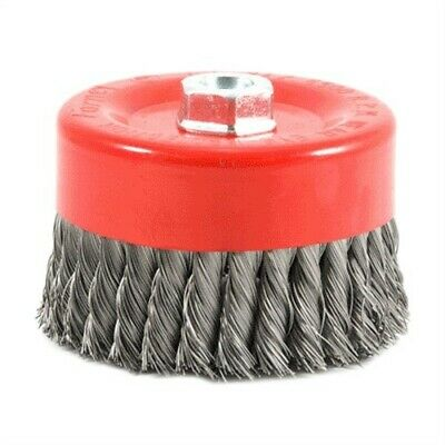 "6"" Knot Wire Cup Brush,No 72756,  Forney Industries Inc"
