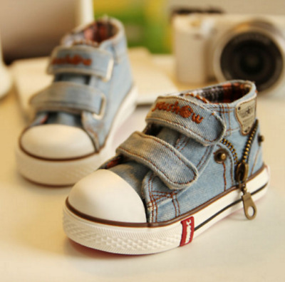 NewKids Children's Sports Shoes Girls Boys Sneakers Baby Jeans Boots CanvasShoes