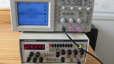 Bk Precision 4040 20 Mhz Sweep/function Generator W/manual Copy On Cd