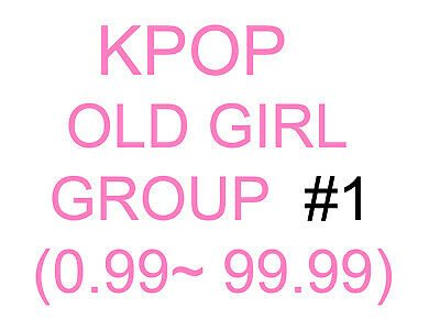 KPOP old girl group Promotion album SUPER SET 1 (Update finished)