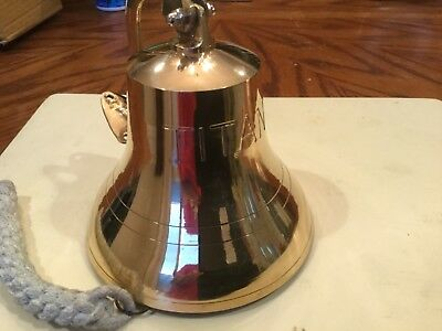 Titanic Brass Ship Bell Nautical Sea Marine collectible Pirate bells