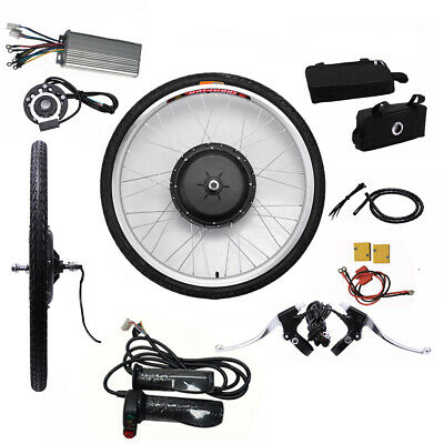 New 26inch 48V 1000W Front Wheel E-bike Conversion Kit Electric Bike Modified ZT Radsport