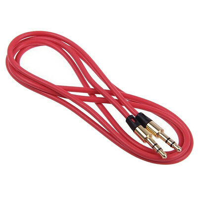 3.5mm Male to Male Car Aux Auxiliary Cord Stereo Audio Cable for Phone iPod L9J2