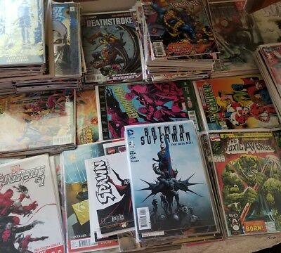 Marvel and DC Comic Book lot of 20 comics~ all acid free bagged and boarded