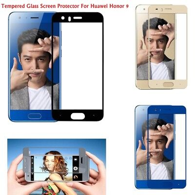 9H+ Premium Tempered Glass Film Cover Screen Protector For Huawei Honor 9