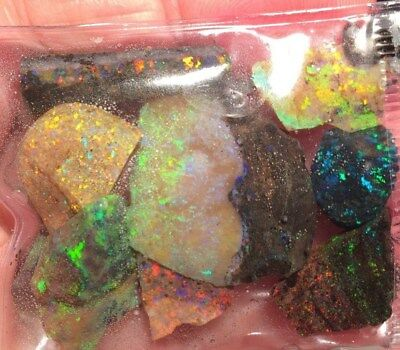 AUSTRALIAN NATURAL OPAL MATRIX ROUGH .ANDAMOOKA.  Australia