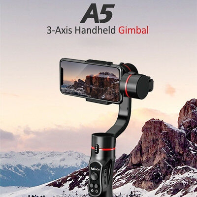 Wewow A5 3-Axis Handheld Gimbal Stabilizer For 4~5.5In Smartphone/Action Camera