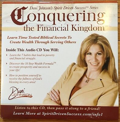 NEW Conquering Financial Kingdom Dani Johnson Network Marketing Inspirational