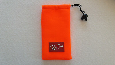 Ray Ban Brillenetui NEU orange Brille Etui Box Case