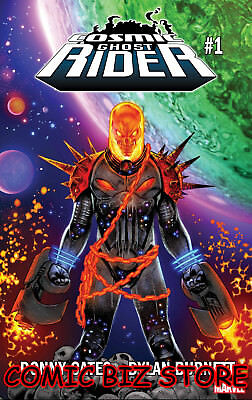 Cosmic Ghost Rider #1 (2018) 1St Print Main Cover Bagged & Boarded Marvel Comics