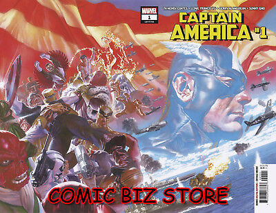 Captain America #1 (2018) 1St Print Main Cover Marvel Comics *special Low Price*