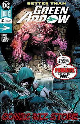 Green Arrow #42 (2018) 1St Printing Dc Comics Universe Bagged & Boarded