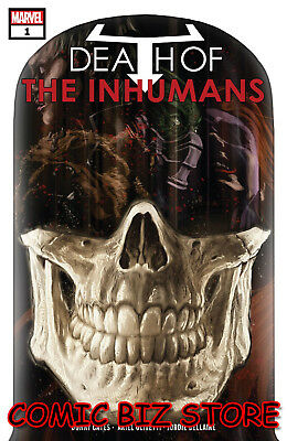 Death Of Inhumans #1 (2018) 1St Print Main Cover Bagged & Boarded Marvel ($4.99)