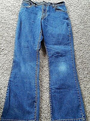 aa18d2bfe66 Women's 550 Levi's Relaxed Boot Cut Dark Stretch Blue Jeans Size ...