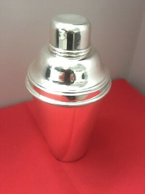 Antique silver plated cocktail shaker (At least 70 years old)