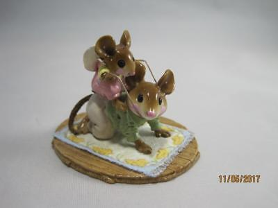 Wee Forest Folk Rough Rider Little Girl M-336 - Retired in 2009 - WFF Box