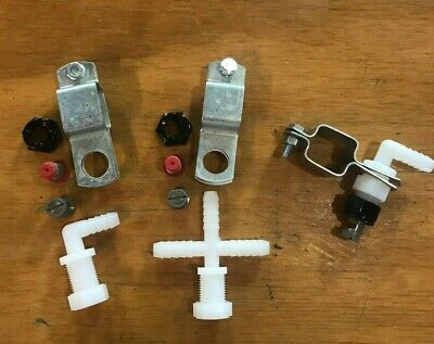 "Spray Boom Repair Kit: tips screens clamps 3/8"" nozzle bodies caps nuts"