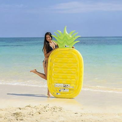 Inflatable Lilo Air Lounger Mat Bed Swimming Pool Beach Float Summer Holiday