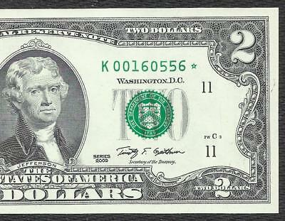 2009 $2 STAR  *DALLAS* only 512,000! **UNCIRCULATED** Old US Paper Money!