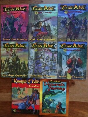 Clan War - Legend of the Five Rings - near Mint (AEG, WOTC)