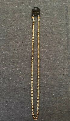 NEW gold chainlink eyeglass necklace chain