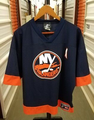 6115d7fd2ed VTG 90s New York Islanders Alexei Yashin Hockey Jersey YOUTH Sz XL MINT!  1990s