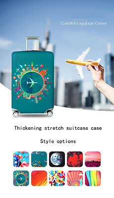 HOT Elastic Fabric Luggage  Suitcase Travel  Protective Cover Suitable 18-32 Inc