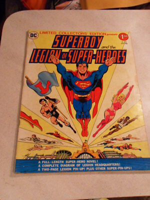 Dc Superboy League Of Super Heros 1976 Limited Collectors Edition