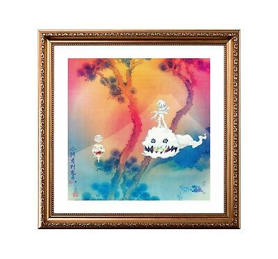 Kanye West & Kid Cudi 'Kids See Ghosts' Original Album Cover Poster or Art Print