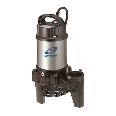 Tsurumi 3PN (50PN2.25S) 1/3hp, 115V, submersible pond & waterfall pump,