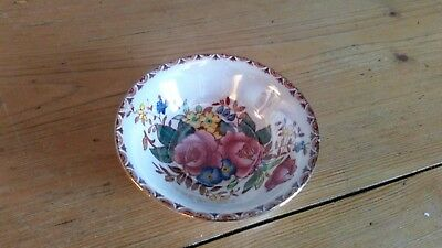 Vintage Maling Rosalind Lustre Pin Dish, Great Condition