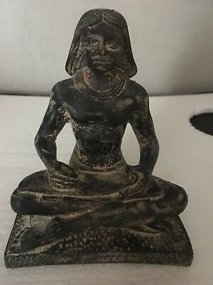 Rare Large Ancient Egyptian Black Scribe - Old Kingdom (2494-2345 BC)