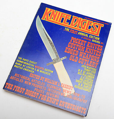Knife Digest First Annual Edition 1974