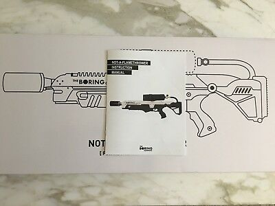 The Boring Company Not A Flamethrower Instruction Manual (Bonus)